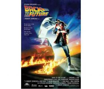 Back To The Future One Sheet Maxi Poster. NEW. Michael J Fox. Deloreon.